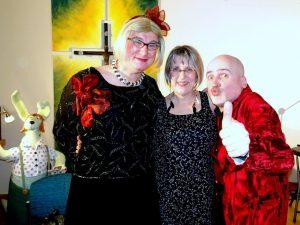 Jeske mit Emmi und Willnowski